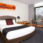 Alpha Hotel Canberra Hotel Room with Terrace - View