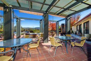 Alpha Hotel Canberra Alfresco Dining