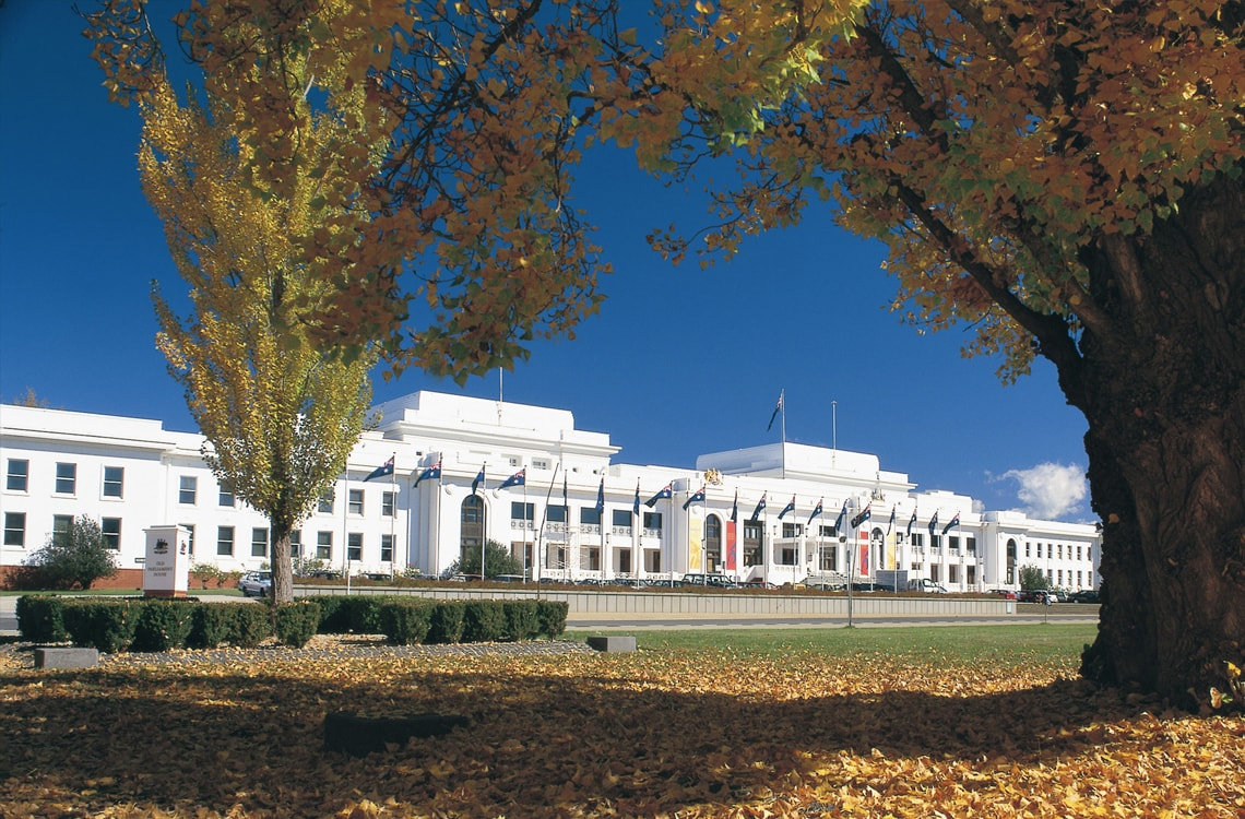 Alpha Hotel Canberra Attractions Old Parliament House