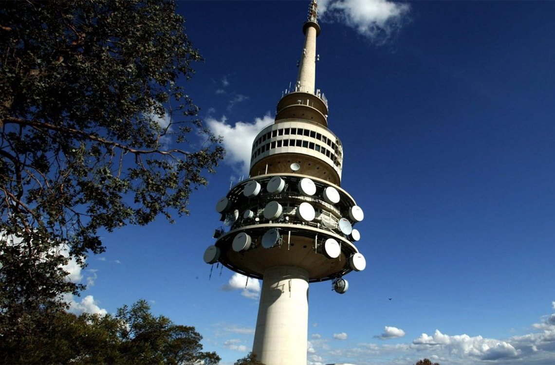 Alpha Hotel Canberra Attractions Telstra Tower